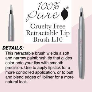 100% PURE: Retractable Lip Brush L10